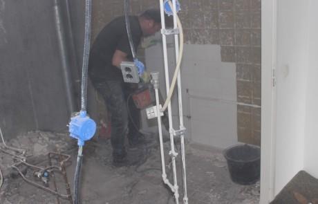 verwijderen betonvloer